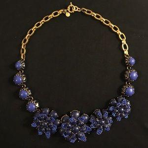 J. Crew Floral Necklace